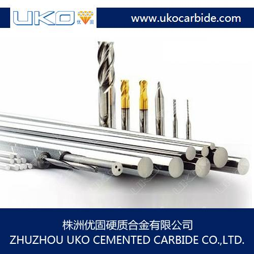 tungsten carbide rods for drills and end mills