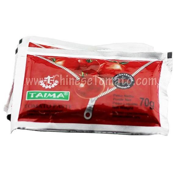 70g Tomato paste for Nigeria market