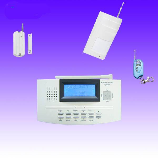 128 wireless zone home security alarm