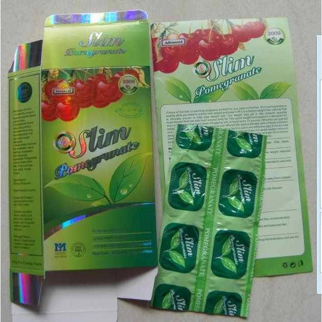 100% Natural Super Slim Pomegranate, Weight Loss Capsule