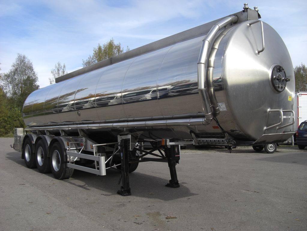 aluminum Tanker Trailer 45000L~54000L 3 Axle
