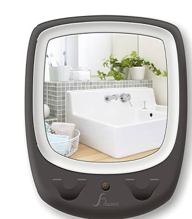 LED Bathroom Mirrors for shaving or makeup, LED lighted wall mounted mirror