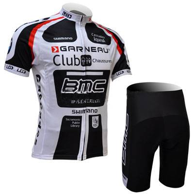 bmc team cuostom cycling jersey and shorts