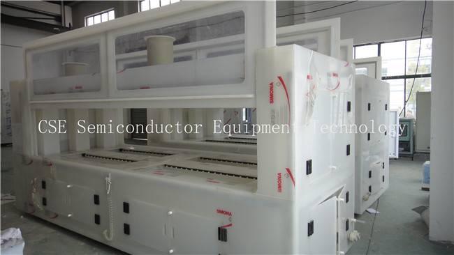 Horizontal Quartz Tube Cleaning Machine