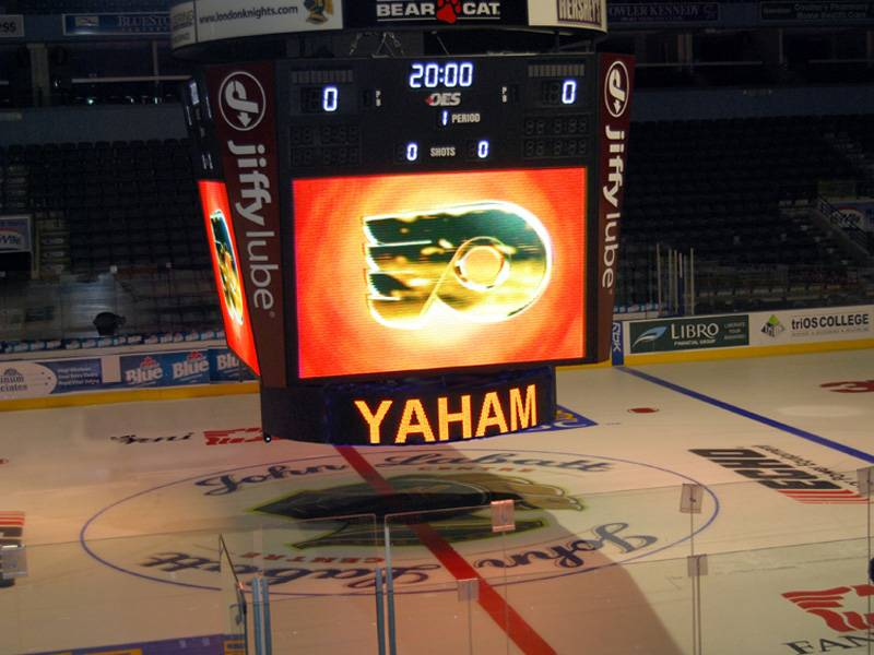 YAHAM Sport LED Display apply to John Labatt stadium