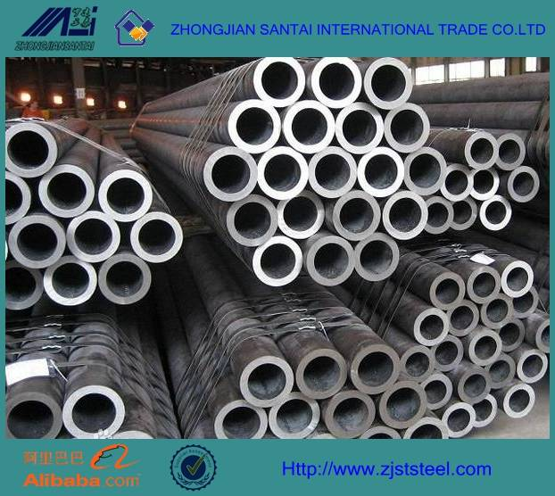 ASTM A53 hot galvaized steel pipe tube for constructions made in china