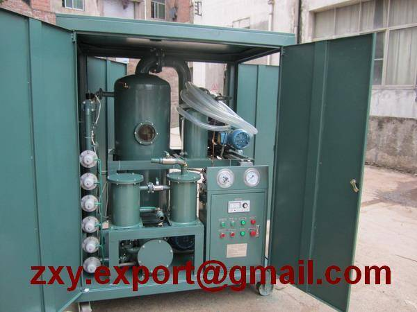 Weather-Proof Trailer Mounted Transformer Oil Filtering, Insulating Oil Treatment, Oil Purification