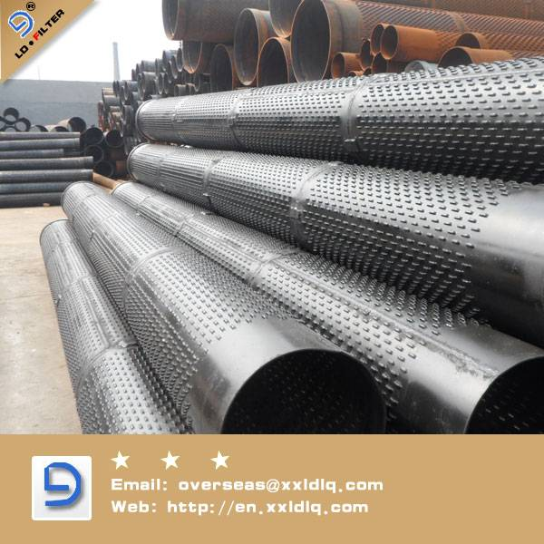 Low Carbon Galvanized screen pipe