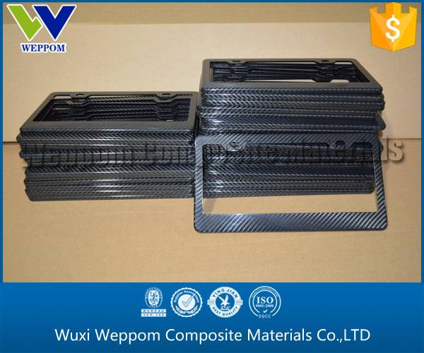 Absolute Factory Price Carbon Fiber License Plate Frame From Gold Supplier