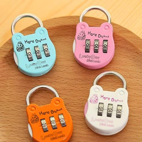 Alloy Password locks, luggage security locks