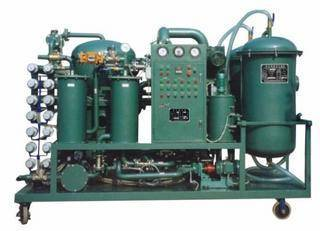 Badly unqualified lubricant oil regeneration system/ Coolant oil,gear oil purifier/oil filtering