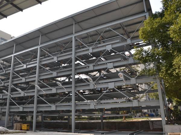 PSH6 Six-storey Lifting Side-sliding Garages A03