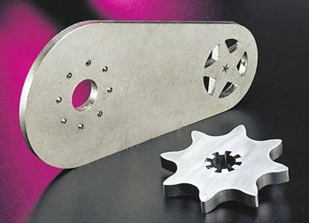 Laser cutting stainless steel parts