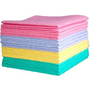 microfiber spunlace nonwoven cleaning cloth