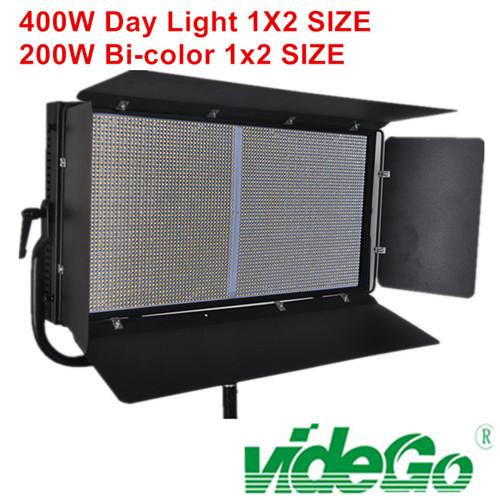 videGo LED Video Panel Light film shooting light/bi-color/100w bi color/50w 1x1 soft video light