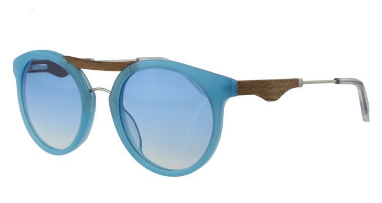 Acetate sunglasses Round frame women style