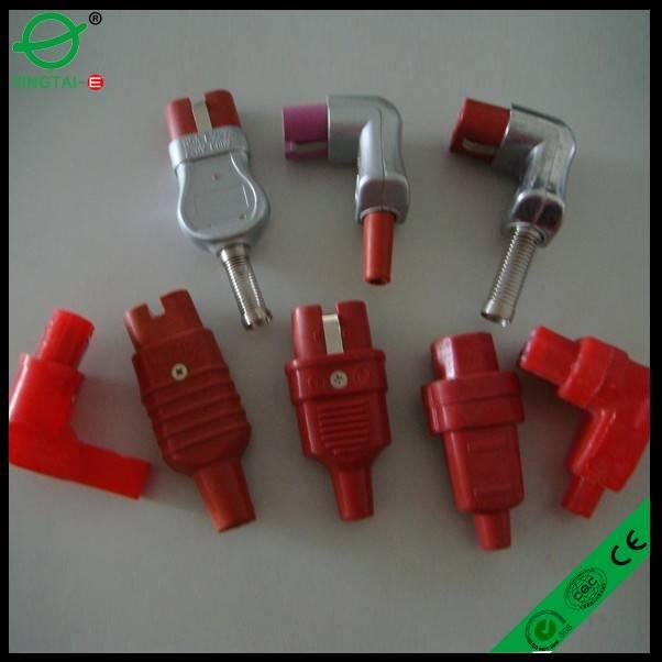 high temperatue male plug socket connector