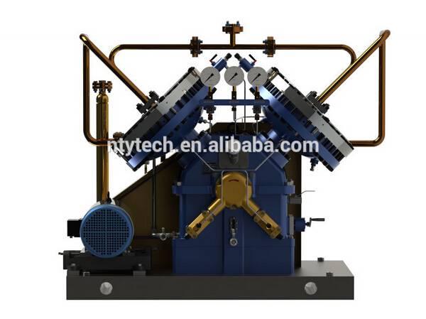 8MPa Working Pressure Monomethylamine/Amino Diaphragm/Membrane Gas Compressor