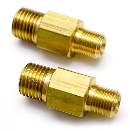 Oil feed adapter(for stock oil line use)brass fittings