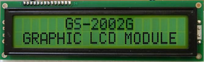 Character LCD 20x2: KTC20201