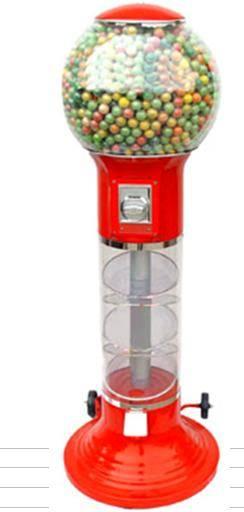 Spiral Gumball Vending Machine