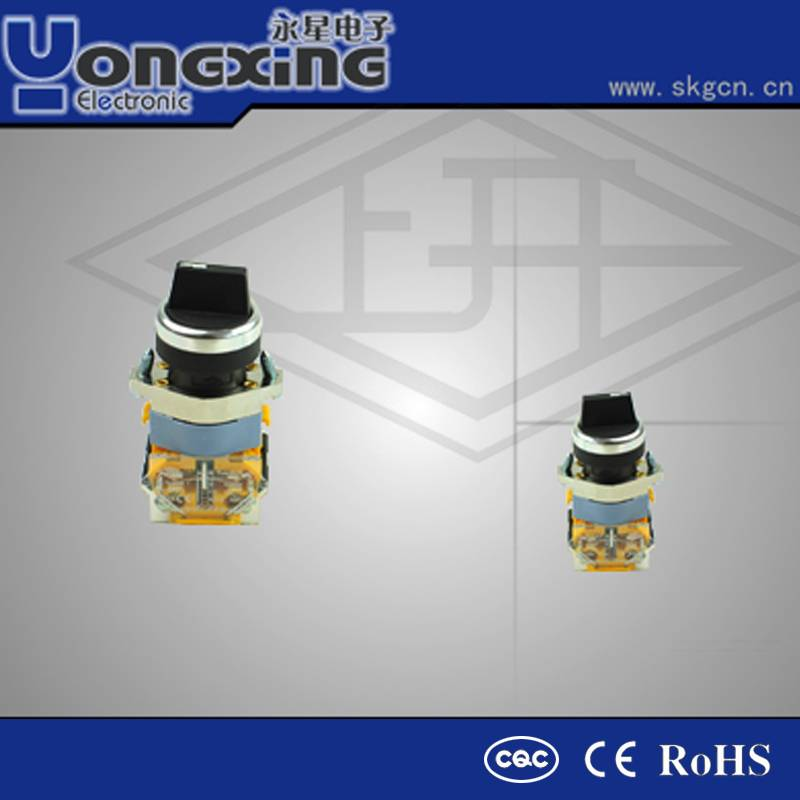 rotary high voltage mechanical 3 position rotary switch