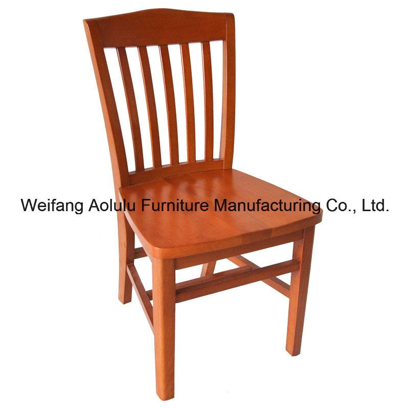 Wholesale European Dining Solid Wood Chair for Restaurant (ALL-1005)