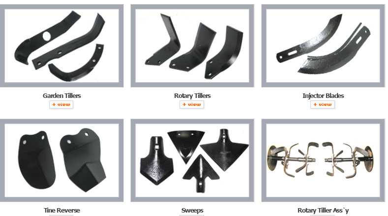 ROTAVATOR AND FLAIL EQUIPMENT PARTS