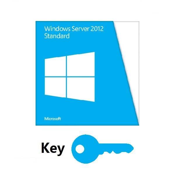 Microsoft Windows Server 2012 Standard Key