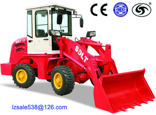 China high quality front end wheel loader with bucket CE approved
