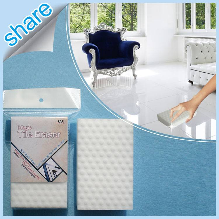 Delicate Items Non-Scratching Scrub Sponge for Floor