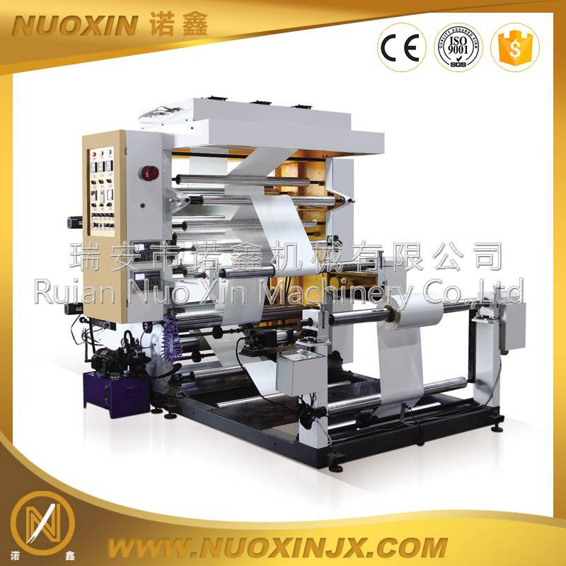 2 Color copy paper flexo printing machine
