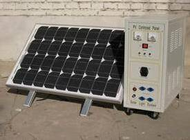 solar home system portable/removeable CBSC-50Wp