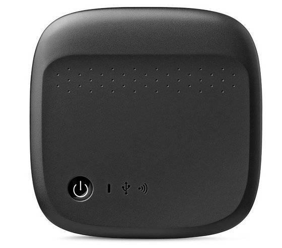 Seagate 500GB Portable Wireless Mobile Storage WiFi External Hard Drive