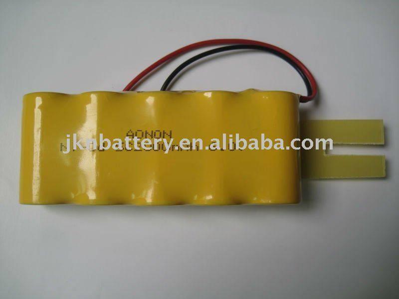6.0V SC 2000mAh Ni-CD rechargeable battery