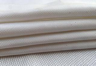 High silica glass fiber