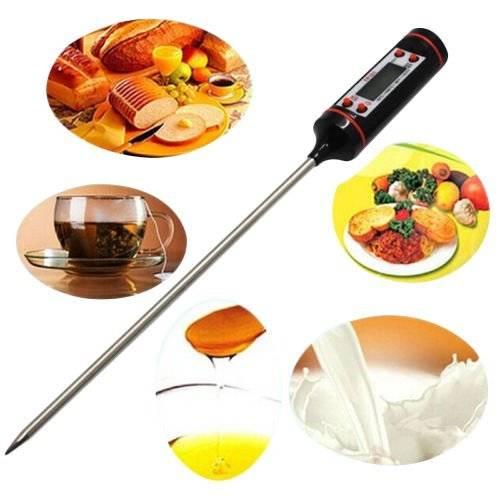 lcd Instant Read Digital Probe Thermometer Kicthen Meat Cooking Thermometer
