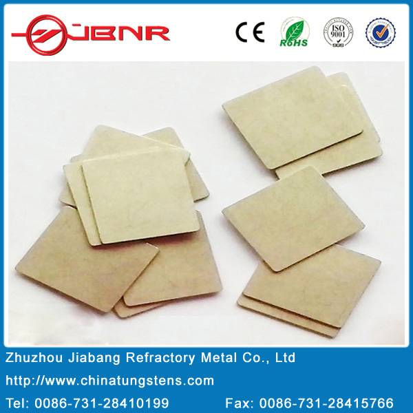 Customized Copper Tungsten Copper Alloy Electronic Packaging Materials