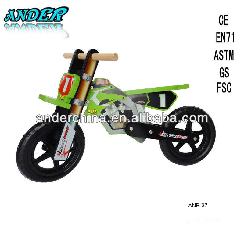 Hot Sale Kid Wooden Blance Bike Model ANB-37