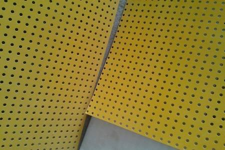 Guang Zhou stainless steel puching hole wire mesh