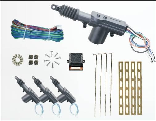 12V Universal Car Central Locking System One master three slaves