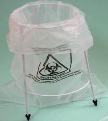Biohazard Bags Stool