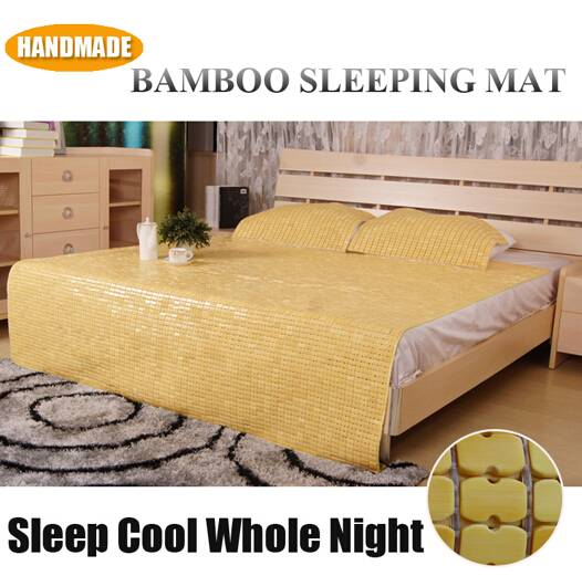 Chinese Traditional Summer Cooling Bamboo Sleeping Mat for Bed