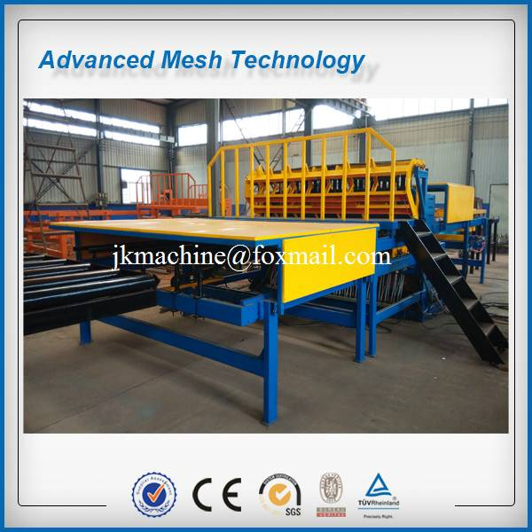Automatic 5-12mm Rebar Mesh Welding Machines for making Concrete Slab Mesh