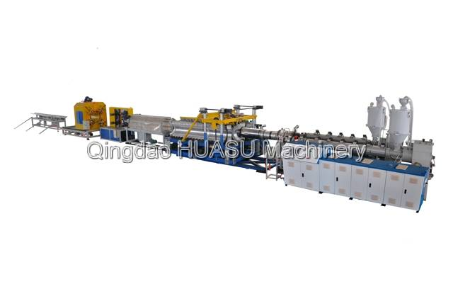 SBG500 HDPE/PP Double Wall Corrugated Pipe Extrusion Line