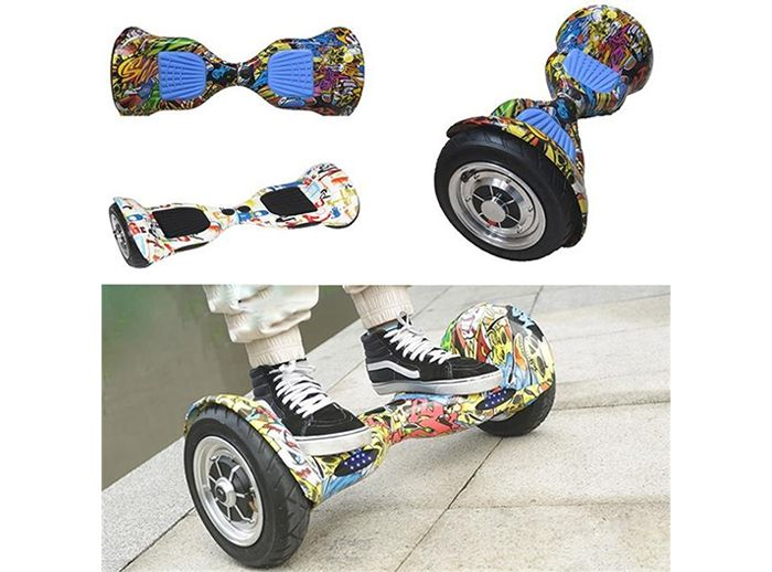 10 Inch Self Balancing Electric Balance Scooter Hoverboard With Bluetooth Speaker
