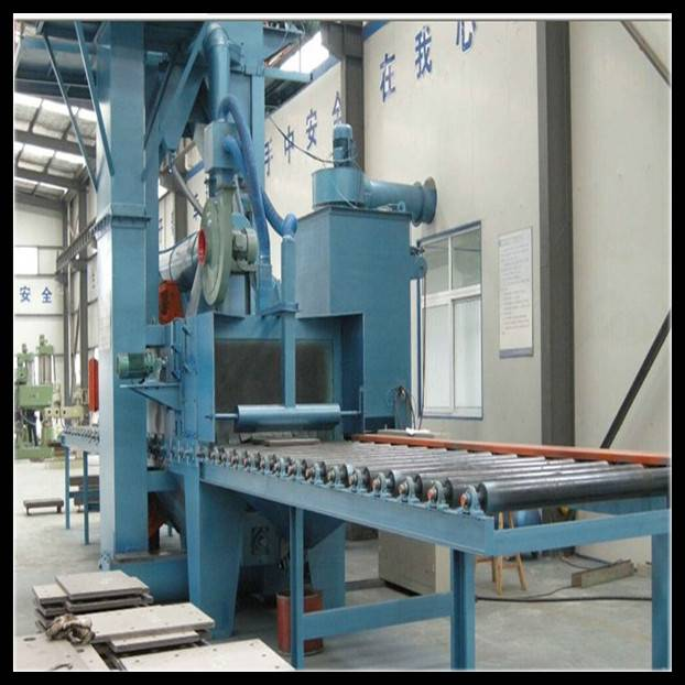 Manufacturing H Beam Surface Cleaning Machine Metal Sand Blaster