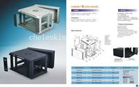 6U 19 inch wall mounted network cabinets for Server equipment