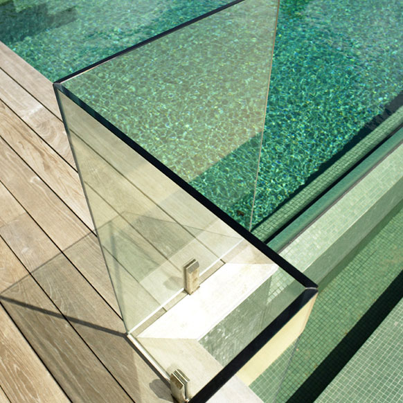 sell CE CSI ANSI certification of 6-15mm safety toughened glass fence
