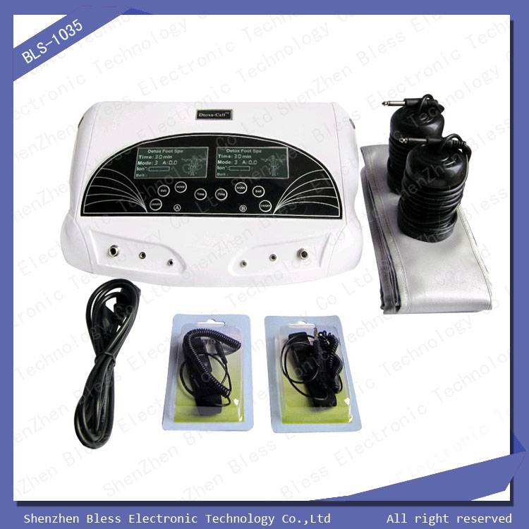 Dual person use foot ion detox machine